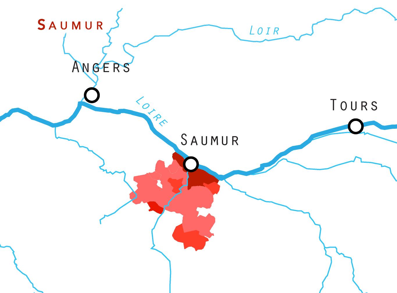 Saumur, Saumur Champigny, Cabernet Franc, Saumur Brut
