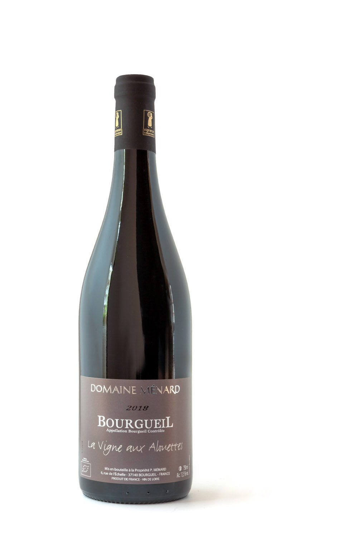 Loire, Loirewijn, Wijnwerk, cabernet franc, biologisch, Bourgueil, Leeuwerik, Allouettes, Ménard
