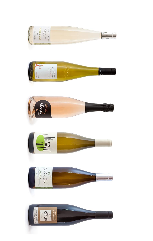Wijnwerk, proefdoos, lentewijn, import, biologisch, Loirewijn, Melon de Bourgogne, Cabernet Franc, Chardonnay, Grolleau, Grolleau Gris, Chenin, korting, Muscadet