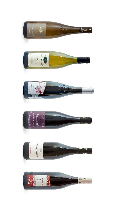 Wijnwerk, proefdoos, winterkost, huiselijk, winter, Loirewijn, rodewijn, wittewijn, Chenin, Romorantin, Gamay, Côt, Cabernet Franc,  Pineau d\'Aunis