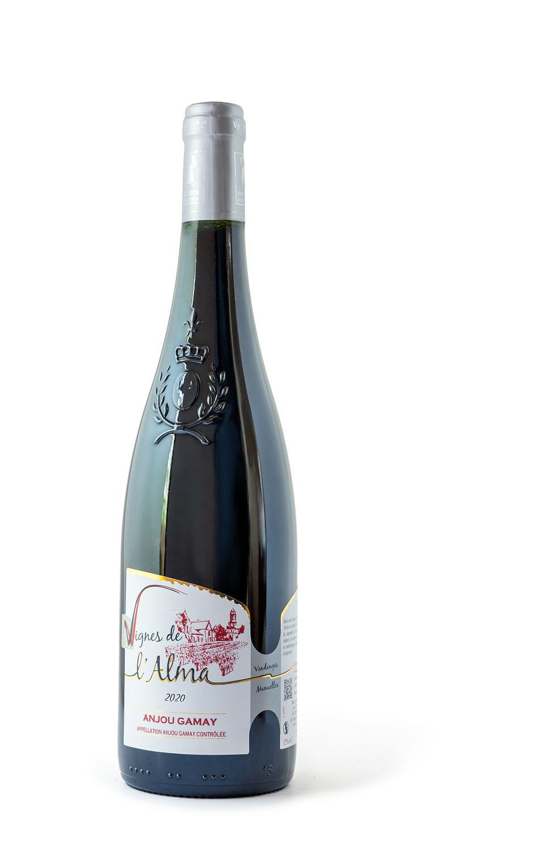 Wijnwerk, Loirewijn, rode wijn, Gamay, Anjou, terra vitis, St Florent le Vieil