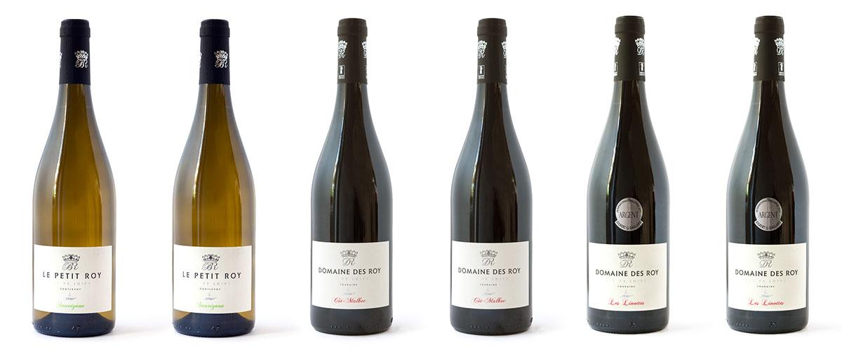 Wijnwerk,  Loirewijn, Touraine, Domaine des Roy, Sauvignon, Côt, Gamay & Pinot Noir, Dooskorting, Bio
